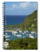 St Lucia Spiral Notebook