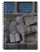 St. Marco And The Lion Spiral Notebook