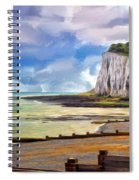 St. Margaret's Bay At Dover Spiral Notebook