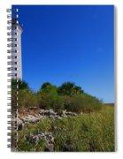 St Marks Lighthouse Along The Gulf Coastst Spiral Notebook