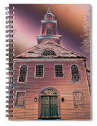 St. Mary's Episcopal Church In Pastel Spiral Notebook