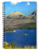 St. Mary's Lake 1 Spiral Notebook