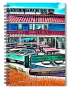 St Michaels Crab And Steak House Spiral Notebook