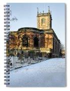 St Modwen's Church - Burton - In The Snow Spiral Notebook