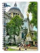 St Paul Is Giving His Blessing Spiral Notebook