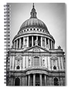 St. Paul's Cathedral In London Spiral Notebook