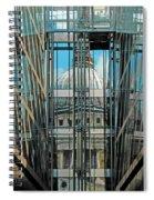 St Pauls Compressed Spiral Notebook