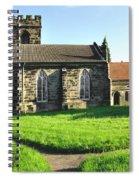 St Peter's Church - Hartshorne Spiral Notebook