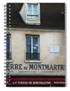 St Pierre De Montmartre Paris Scene Spiral Notebook