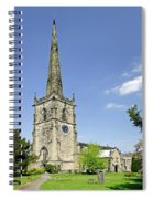 St Wystan's Church - Repton Spiral Notebook