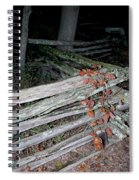 stacked Fence Spiral Notebook