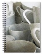 Stacked Up Spiral Notebook