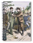 Stagecoach Robbery, 1880s Spiral Notebook