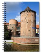 Stagiewna Gate Gothic Tower Spiral Notebook