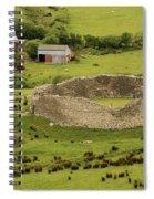 Staigue Fort, Kerry Spiral Notebook