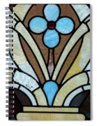 Stained Glass Lc 04 Spiral Notebook