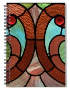 Stained Glass Lc 05 Spiral Notebook