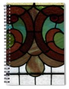 Stained Glass Lc 08 Spiral Notebook