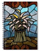 Stained Glass Lc 11 Spiral Notebook