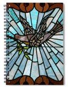 Stained Glass Lc 14 Spiral Notebook