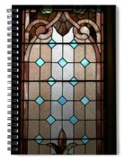 Stained Glass Lc 15 Spiral Notebook