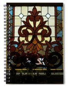 Stained Glass Lc 16 Spiral Notebook