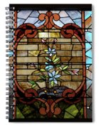 Stained Glass Lc 18 Spiral Notebook
