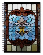 Stained Glass Lc 19 Spiral Notebook