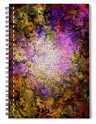 Stained Glass Mosaic Spiral Notebook