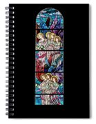 Stained Glass Pc 07 Spiral Notebook