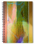 Stained Glass Shower Spiral Notebook