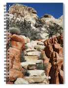 Staircase Stones Spiral Notebook