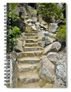 Staircase To Eagle Falls Lake Tahoe Spiral Notebook