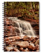 Stairs Falls Spiral Notebook