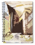 Stairway To Heaven Abstract Spiral Notebook
