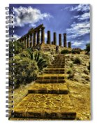 Stairway To The Past Spiral Notebook