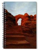 Stairwell To The Gods  Spiral Notebook