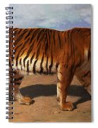 Stalking Tiger Spiral Notebook