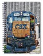 Stalled 7141 Spiral Notebook