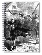 Stamp Act, 1765 Spiral Notebook