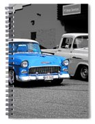 Stand Alone Abstract Spiral Notebook