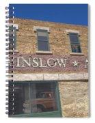 Standin On The Corner In Winslow Arizona Spiral Notebook