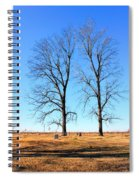 Standing Alone Together Spiral Notebook
