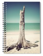 Standing Alone-vintage Spiral Notebook