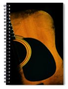 Standing In The Shadows Spiral Notebook