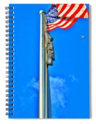 Standing Proud Soaring High Spiral Notebook