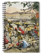 Stanley Leads Attack On Hostile Tribe Spiral Notebook