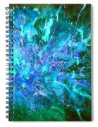 Star Burst In The Milky Way Spiral Notebook