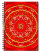 Star Cookie Art Spiral Notebook