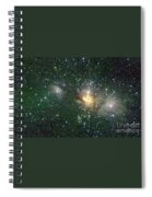 Star Forming Region Spiral Notebook
